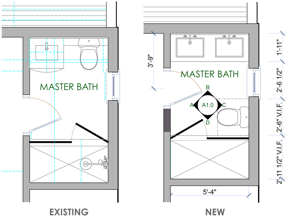 01 BATHROOM REMODEL _ Layout